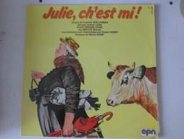 Julie Ch Est Mi  Vinyle  .............patois Picard Ch Ti Ch Timi Lille  Francines Guillaumes   Arlette Renard - Humor, Cabaret