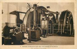 68 - RICHWILLER - Mines Domaniales De Potasses D´alsace - Machine D´extraction -le Machiniste Est Ehrard Jules - France