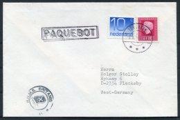 1989 Netherlands Faroe Islands Torshavn Paquebot Ship Cover - Period 1980-... (Beatrix)