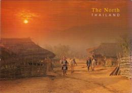 THE NORTH  THAILAND   HILLTRIBE  VILLAGE  CHIANG RAI     (VIAGGIATA) - Tailandia