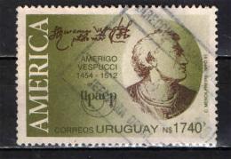 URUGUAY - 1991 - AMERIGO VESPUCCI - NAVIGATORE - USATO - Uruguay