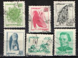URUGUAY - 1976 - IMMAGINI DELL'URUGUAY - USATI - Uruguay
