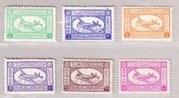 Saudi-Arabien 1949 Mi#29-34 * - Arabie Saoudite