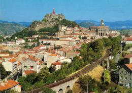 LE PUY-EN-VELAY (43, Haute-Loire) : Statue Notre Dame De France, Rocher Corneille, Cathédrale (non Circulée, Neuve) - Le Puy En Velay
