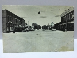 IA Iowa Main Street Conrad Iowa 50621 1960 Stamps Postcard - Stati Uniti