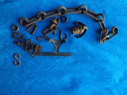 Accessoires Laiton Ou Bronze Pour Luminaire-poids 539g Sans Emballage- - Luminaires