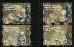 ECUADOR 2006  PRECOLOMBIAN ART SET MNH - Ecuador
