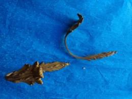 Accessoires -embrasse Et Embout-laiton Ou Bronze Pour  Rideaux - Bronzes