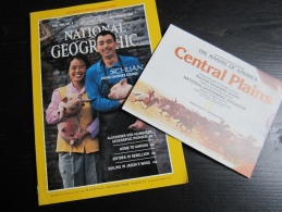 """NATIONAL GEOGRAPHIC Vol. 168, N°3, 1985 : Sichuan (avec La Carte """"the Making Of America, Central Plains"""") - Geographie"""