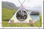 Fantasy Label History Of Cars Car Coche Auto Voiture Automobile Pobeda Austin Citroen NEW ...10 Sheets - Vignettes De Fantaisie