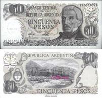 Argentinien Pick-Nr: 301b Bankfrisch 1976 50 Pesos - Argentinien
