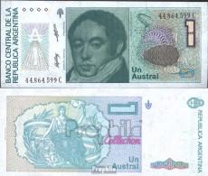 Argentinien Pick-Nr: 323b Bankfrisch 1985 1 Austral - Argentinien