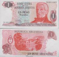 Argentinien Pick-Nr: 311a Bankfrisch 1983 1 Peso - Argentinien