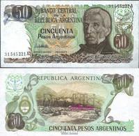Argentinien Pick-Nr: 314a Bankfrisch 1983 50 Pesos - Argentine