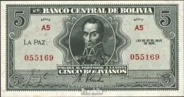 Bolivien Pick-Nr: 129 Bankfrisch 1928 5 Bolivianos - Bolivien