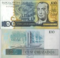 Brasilien Pick-Nr: 211c Bankfrisch 1987 100 Cruzados - Brasilien