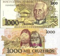 Brasilien Pick-Nr: 231c Bankfrisch 1991 1.000 Cruzeiros - Brasilien