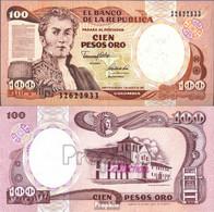 Kolumbien Pick-Nr: 426A Bankfrisch 1991 100 Pesos Oro - Colombia