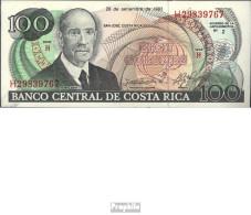 Costa Rica Pick-Nr: 261a Bankfrisch 1993 100 Colones - Costa Rica