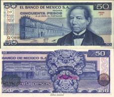Mexiko Pick-Nr: 73 Bankfrisch 1981 50 Pesos - Mexiko
