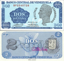 Venezuela Pick-Nr: 69 Bankfrisch 1989 2 Bolivar - Venezuela