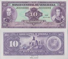 Venezuela Pick-Nr: 61b Bankfrisch 1990 10 Bolivares - Venezuela