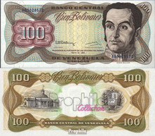 Venezuela Pick-Nr: 66d Bankfrisch 1992 100 Bolivares - Venezuela