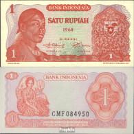 Indonesien Pick-Nr: 102a Bankfrisch 1968 1 Rupiah - Indonesien