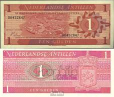 Niederländische Antillen Pick-Nr: 20a Bankfrisch 1970 1 Gulden - Nederlandse Antillen (...-1986)