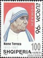 Albanien 2636 (kompl.Ausg.) Postfrisch 1997 Tod Von Mutter Teresa - Albanie