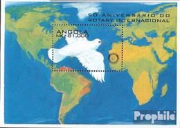 Angola Block19 (kompl.Ausg.) Postfrisch 1995 90 Jahre Rotary International - Angola