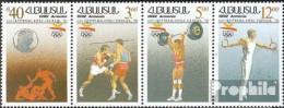 Armenien 199-202 Viererstreifen (kompl.Ausg.) Postfrisch 1992 Olympische Sommerspiele '92 - Armenien