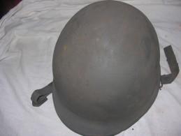Casque Francais / Casque Lourd Francais Model 51 Periode Guerre Indo - Copricapi