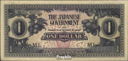 Malaysia Pick-Nr: M5b Bankfrisch 1942 1 Dollar - Malaysia