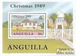 Anguilla Block84 (kompl.Ausg.) Postfrisch 1989 Historische Gebäude - Anguilla (1968-...)
