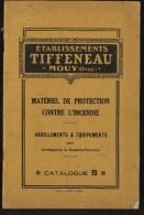 Catalogue Sapeurs-pompiers – Tiffeneau – Mouy – Oise – 44 Pages + 4 De Couverture - Firemen