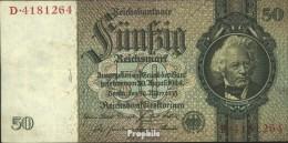 Deutsches Reich Pick-Nr: 175a Gebraucht (III) 1933 50 Reichsmark - 50 Reichsmark