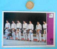 JUDO CLUB JKSLAVIJA- Yugoslav Vintage Trading Card Svijet Sporta ** VERY LARGE SIZE ** Judo Sport - Martial Arts