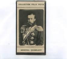 IMAGE FELIX POTIN : GENERAL SKOBELEFF . NE A MOSCOU . - Félix Potin