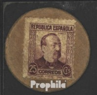 Spanien Pick-Nr: 96I Gebraucht (III) 1938 25 Centimos - [ 3] 1936-1975 : Regency Of Franco