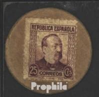 Spanien Pick-Nr: 96I Gebraucht (III) 1938 25 Centimos - Andere