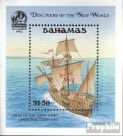 Bahamas Block64 (kompl.Ausg.) Postfrisch 1991 Entdeckung Amerikas - Bahamas (1973-...)