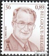 Belgien 3016 (kompl.Ausg.) Postfrisch 2000 Albert - Ungebraucht