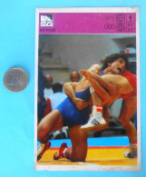 WRESTLING ... IVICA FRGIC - Yugoslav Vintage Card Svijet Sporta * LARGE SIZE * Lutte Lucha Ringen Lotta - Trading Cards