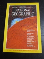 NATIONAL GEOGRAPHIC Vol. 157, N°1 1980 :  Voyageur Views Jupiter - Géographie