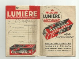 Pochette De Photos   *  Pellicule Film  Lumière Lumichrome    (Duserre-Telmon , Bastia) - Photographie
