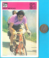 EDDY MERCKX Belgium - Yugoslav Vintage Card Svijet Sporta * LARGE SIZE * Cycling Cyclisme Radsport Radfahren Ciclismo - Cycling