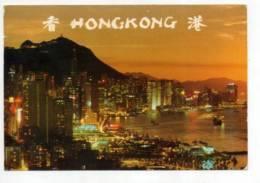 CHINA, Hong Kong, Scene Of Victoria  ( 2 Scans ) - Cina (Hong Kong)