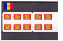 French Andorra - MNH** - 2007 Coat Of Arms - Self-Adhesive Stamp - Booklet - Armoiries (and111) - Ongebruikt