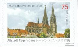BRD (BR.Deutschland) 2850 (kompl.Ausg.) Selbstklebende Ausgabe Postfrisch 2011 UNESCO-Welterbe - Ungebraucht